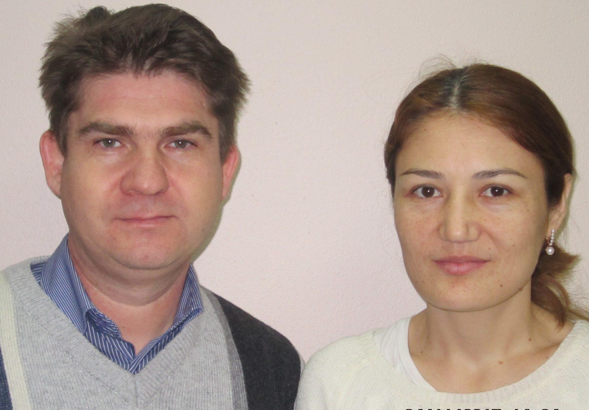 Ильмир Гаптрауфович и Манзура Мурадовна