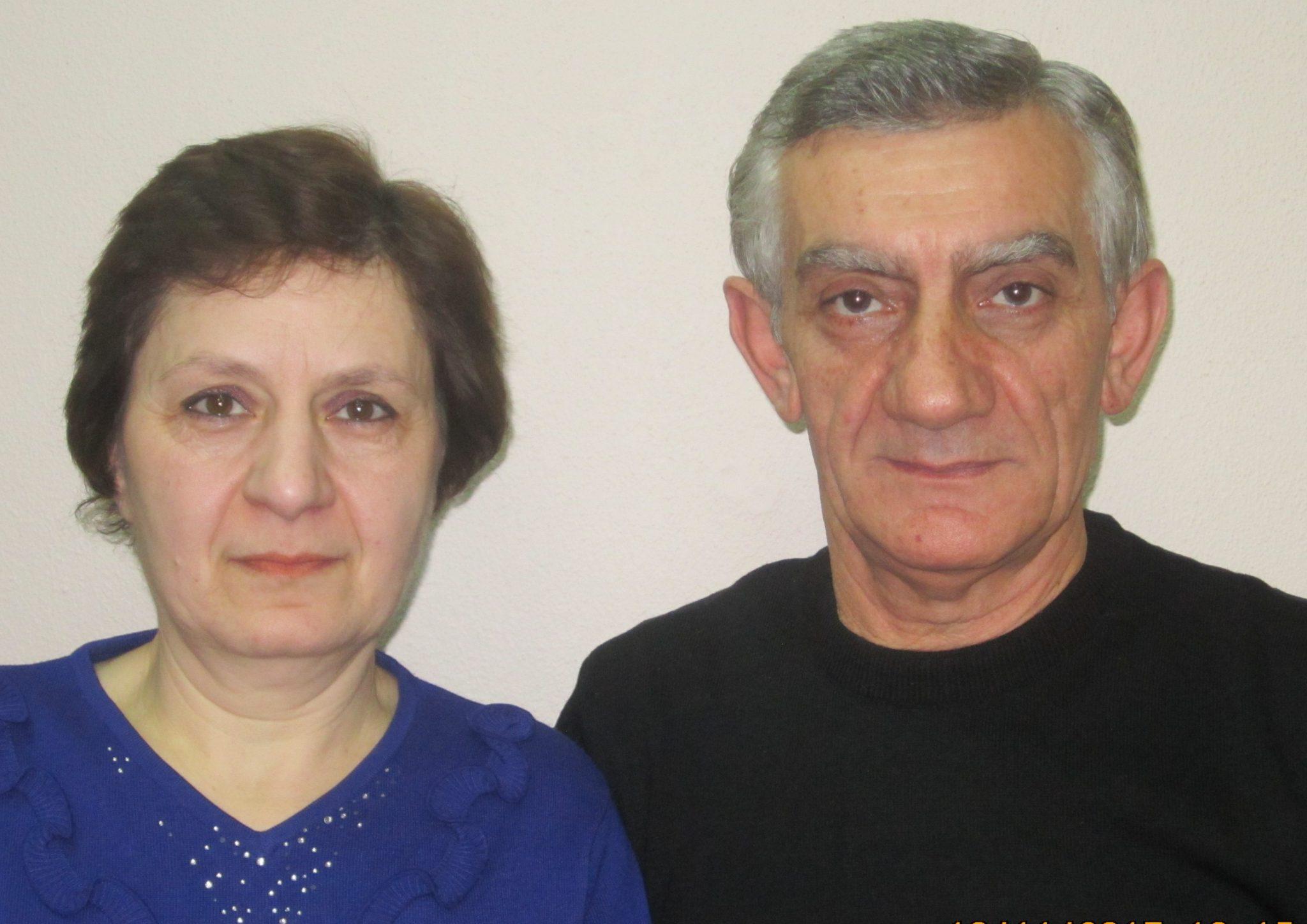 Ашот Размикович и Амалия Саядовна