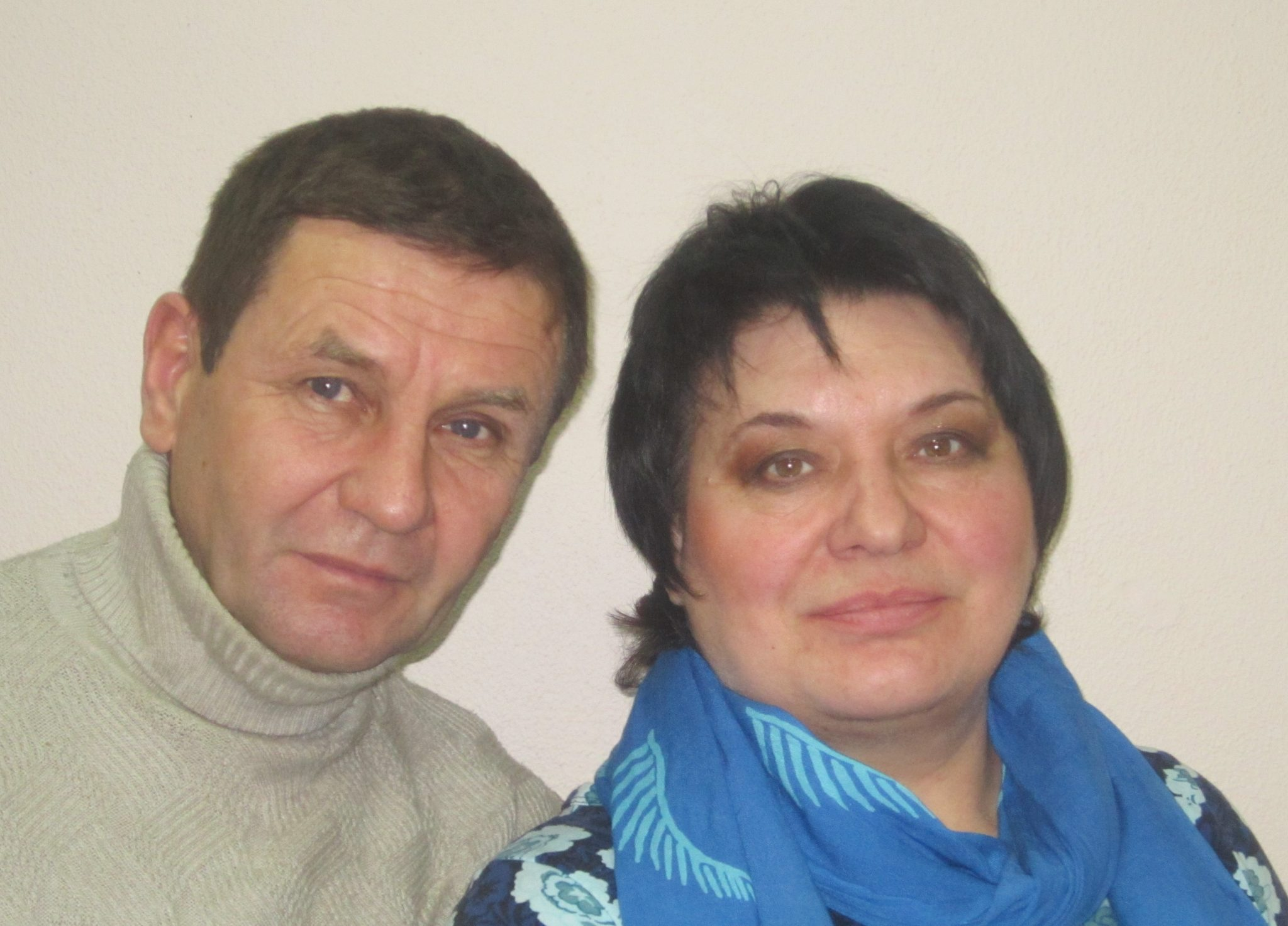 Григорий Кузьмич и Валентина Васильевна