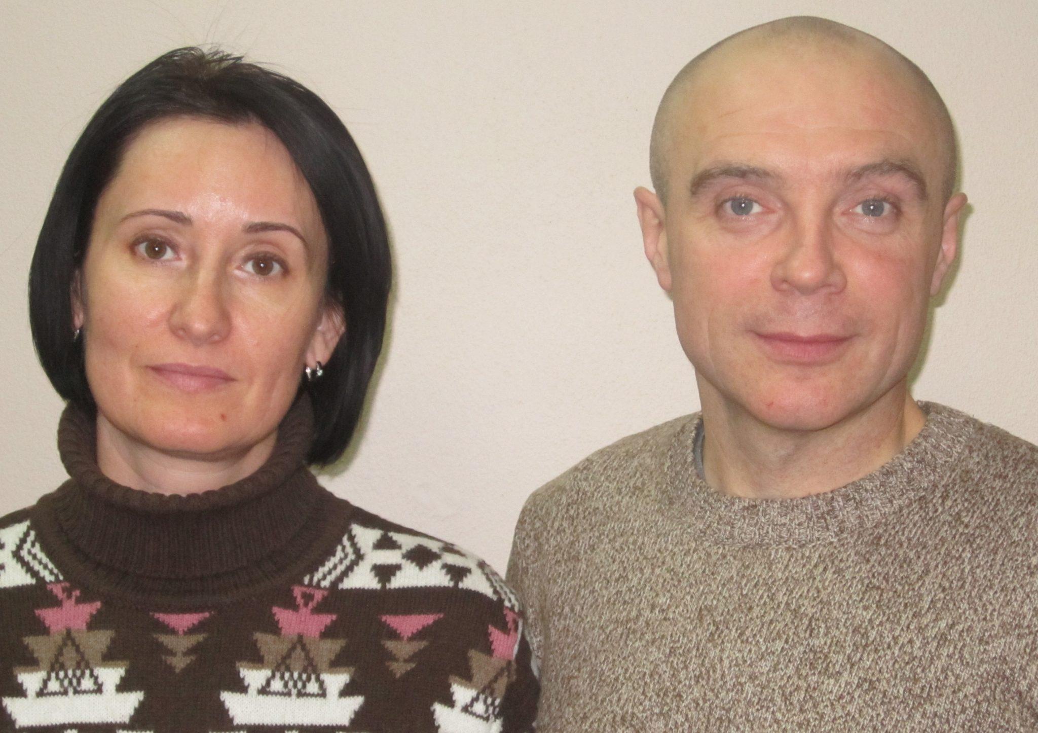 Сергей Петрович и Виктория Ивановна