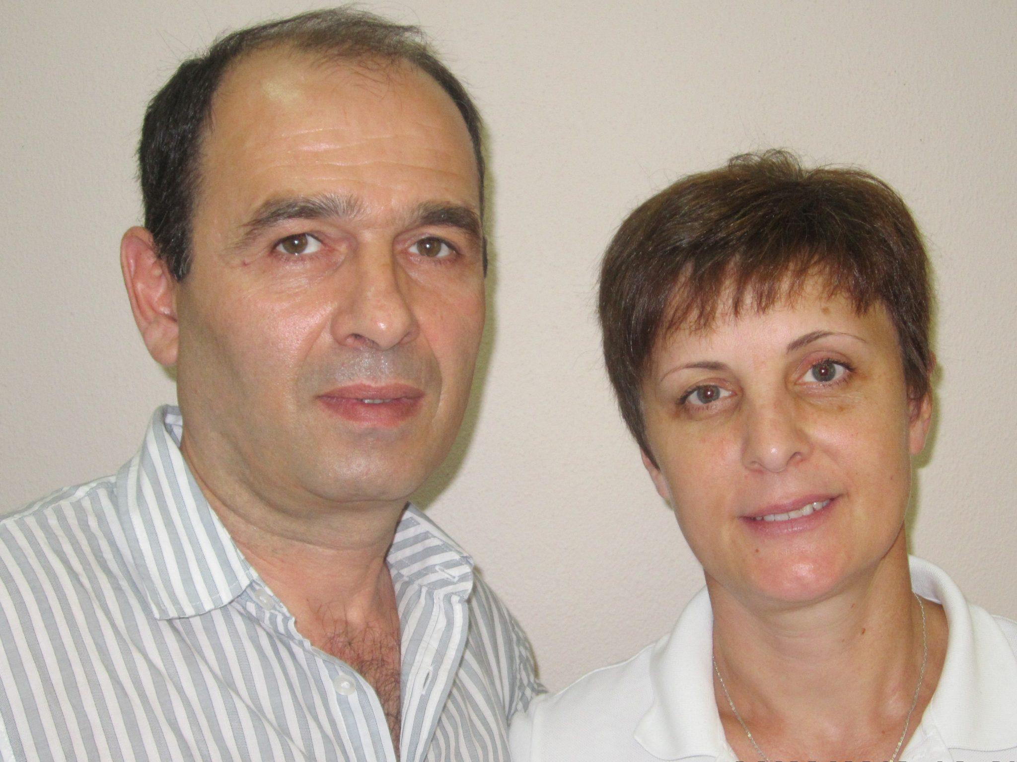 Бесик Абесаломович и Татьяна Васильевна