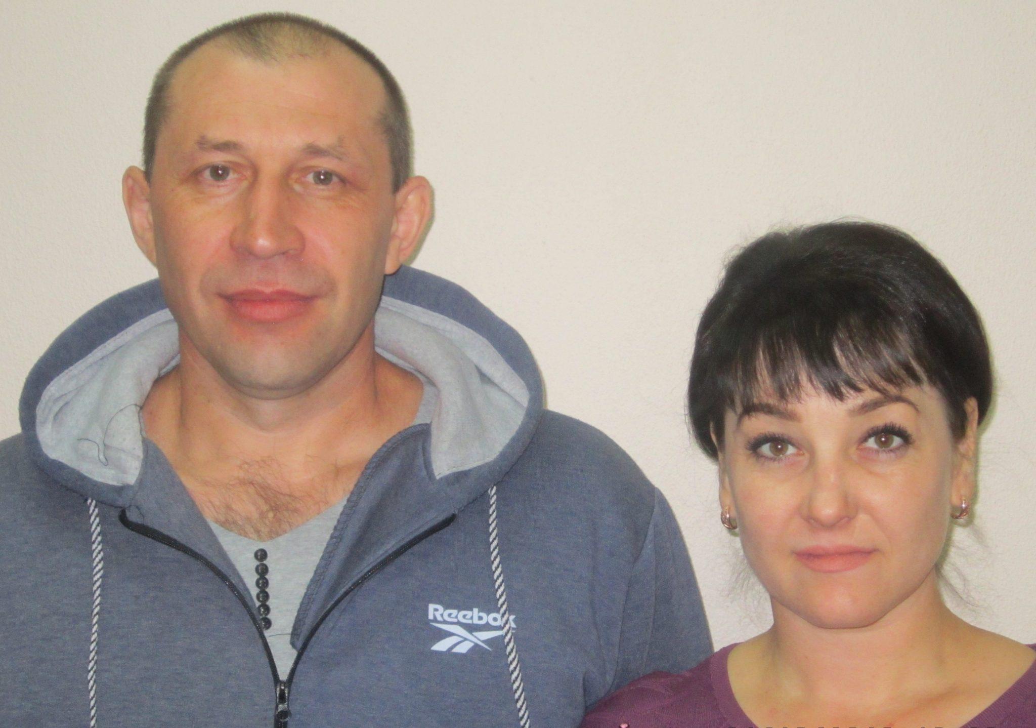 Алексей Анатольевич и Марина Анатольевна